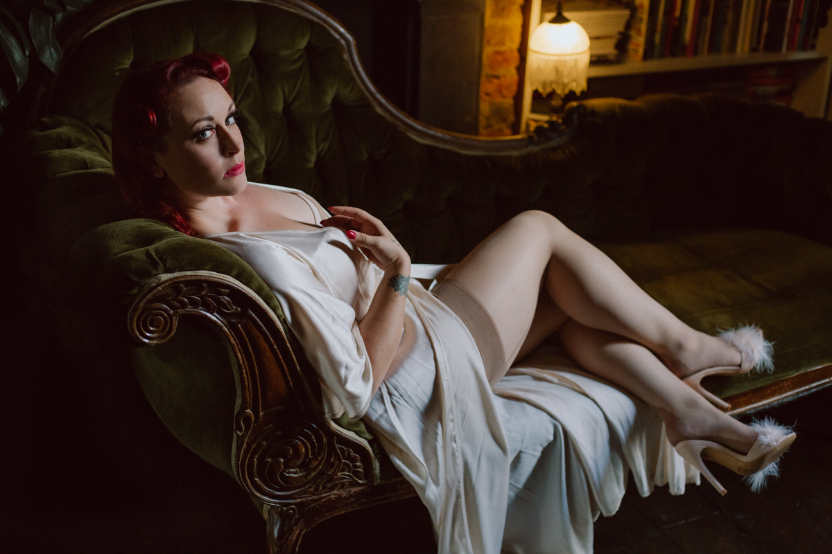 pin up vintage domme